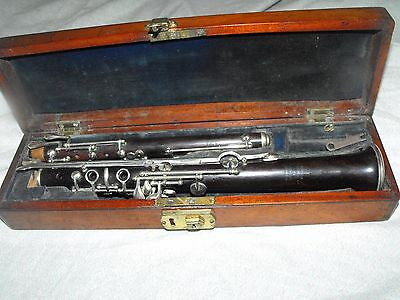Antique Albert of Brussels Oboe Just Serviced