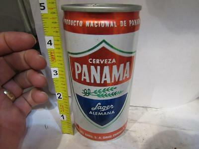 Panama Cerveza Lager Alemana 10 OZ. PULL TAB ALUMINUM OLD BEER CAN