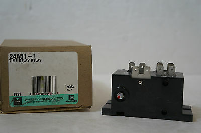 White Rodgers 24A51-1 Time Delay Relay New (Missing Manual)