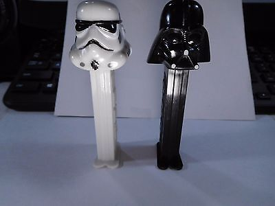 █ PEZ Dispensers!  DARTH VADER and STORM TROOPER!!!  ^,,^