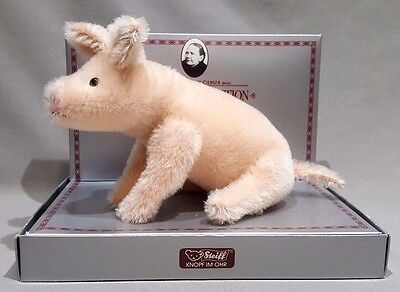 Steiff Museum Collection Pig 1909 Replica Ltd Edition Original Box German