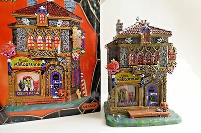 Lemax Spooky Town Mimi's Masquerade Lighted Building
