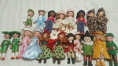 Lot of 19 Madame Alexander Dolls McDonald's Happy Meal Toy
