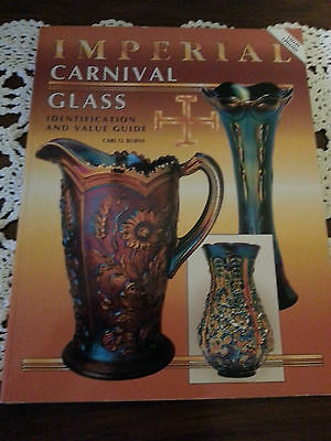 Imperial Carnival Glass Idenification and value Guide