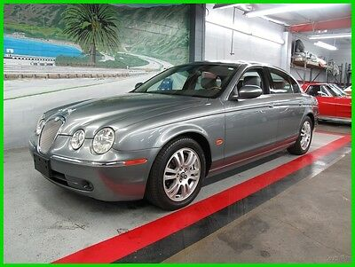2005 Jaguar S-Type 3.0L V6 Please scroll down and look at all Detailed Pics and Carfax Report