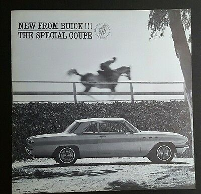 1961 Buick Special Coupe Car Dealership Brochure