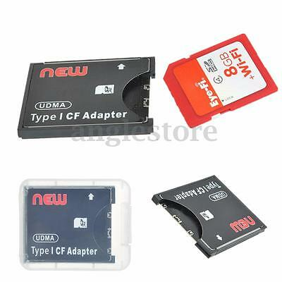 Extreme WiFi SD SDXC To CF Type 1 Compact Flash Memory Card Adapter Reader