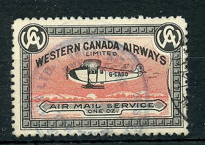 """Weeda Canada CL40 """"Snow on Belly"""" colour shift variety, Western Canada Airways"""