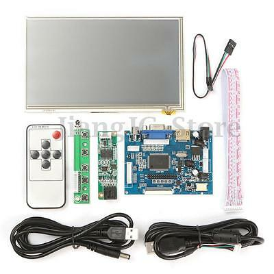 7'' LCD 1024x600 HD Touch Screen Display HDMI Module Kit Set For Raspberry Pi AU
