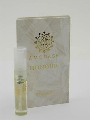 Amouage Honour Woman EDP 2ml Vial Sample New With Card