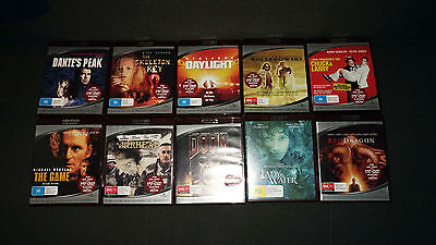 10 x HD DVD's Rare format collectable MINT CONDITION Disc are perfect