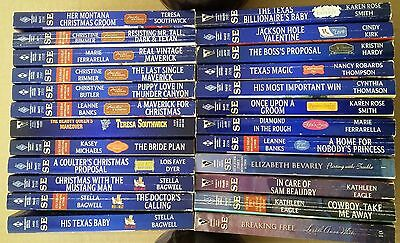Lot Of 24 Harlequin Special Edition Romance Books
