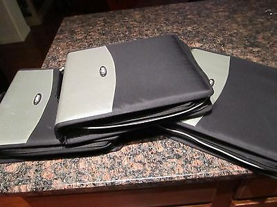 CD DVD Album, CASE IT CD / DVD Wallet (CD Holder Cases) LOT OF 3 Black
