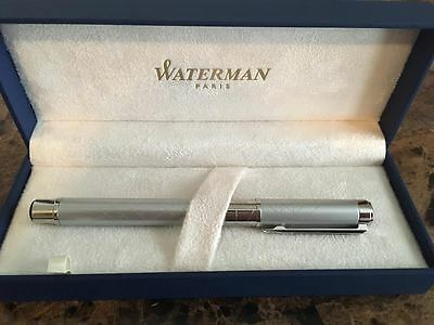 Waterman Perspective Silver Rollerball Pen S0831280