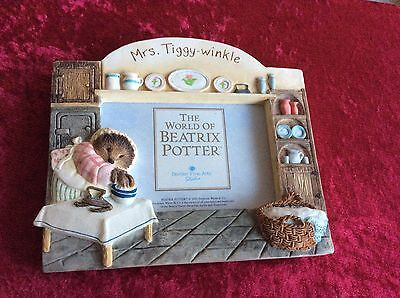 The World Of Beatrix Potter Border Fine Arts Picture Frame Mrs Tiggy-Winkle