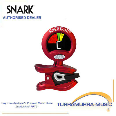 Snark SN2 Tight Clip On Chromatic All Instrument Tuner & Metronome WSN2 Red