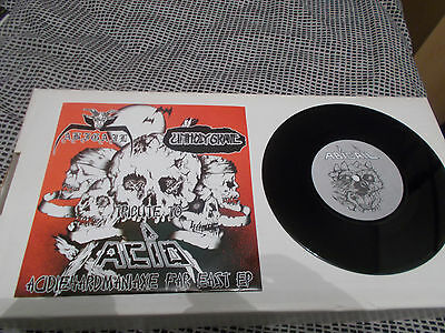 "ABIGAIL / UNHOLY GRAVE Tribute to ACID split 7"" EP ltd 500 copies NIFELHEIM"