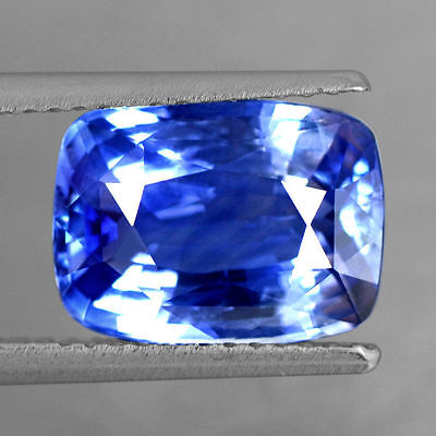 4.04 Cts Natural Certified Untreated Top Royal Blue Sapphire Oval Cut Ceylon Gem