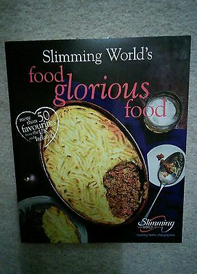 New slimming world food glorious food book