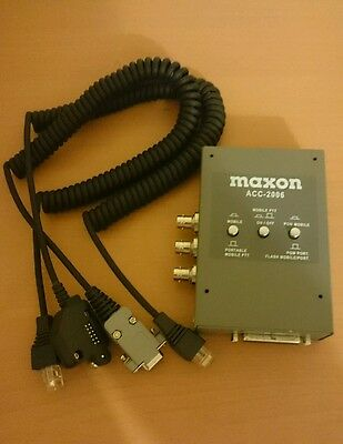 Maxon ACC-2006 programming box for mobile and handheld radios