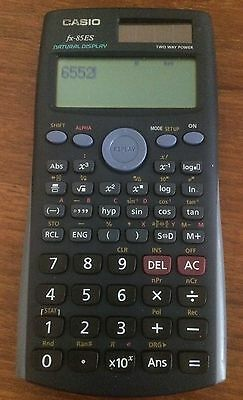 Casio fx-85ES Calculator With Natural Display Two Way Power