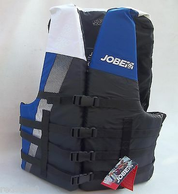 Jobe Progress Adult Xxl Buoyancy Aid Life Jacket Watersport Ski Impact Vest Blu