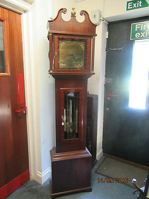 Modern Westminster Longcase/Grandfather Clock In Working Order