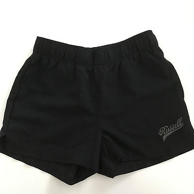 Russell Athletic Girls Youth Short Black Size 10