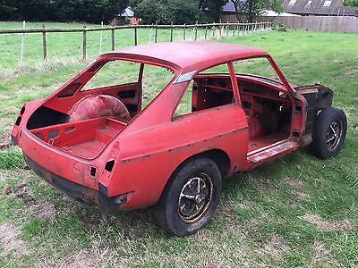 1978 Mg B Gt Rolling Bodyshell, Restoration Project, Never Been Welded
