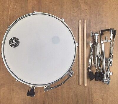 Snare Drum, Stand, Sticks And Carrying Case (Immaculate)