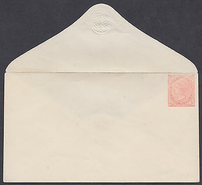 New South Wales 1d Fine Mint Postal Stationery Envelope;diagonal'flaw';Australia