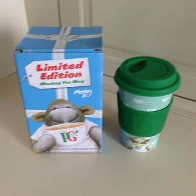 Limited Edition Monkey Tea Mug By Comic Relief In Original Box Never Used