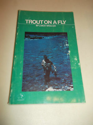 Trout On A Fly By Lance Wedlick