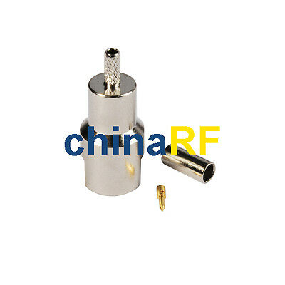 FME plug solder connector for RG174 RG178 RG316 LMR100 RF coaxial Connector