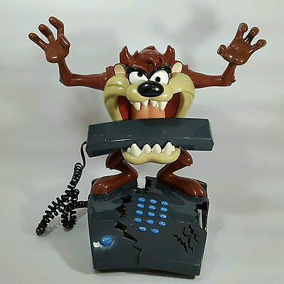 Taz Tazmanian Devil Talking Animated House Lanline Telephone Looney Tunes