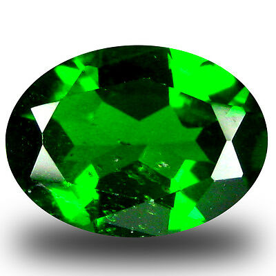 1.82 ct  Exquisite Oval Shape (9 x 7 mm) Green Chrome Diopside Natural Gemstone