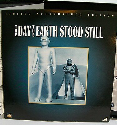 The Day The Earth Stood Still Laser Disc