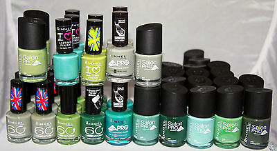 49 x Rimmel Nail Polish | Assorted shades | RRP £200+  |Wholesale Clearance |