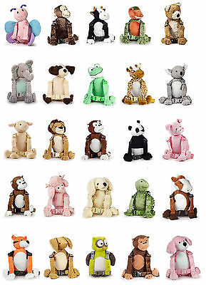 Goldbug Harness Buddy Reins and Backpack Child/Toddler Safety All Animal Designs