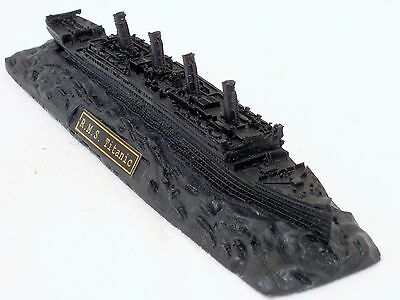 White Star Line Titanic Coal Model - Hand Crafted in the UK - Made with Coal
