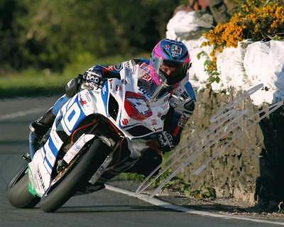 Guy Martin - 2014 Isle of Man TT Autographed 10 x 8 Pic & we can show you proof.
