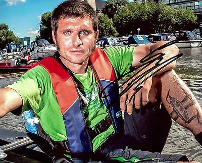 Guy Martin Signed 10 x 8 Speed Series Hydrofoil picture & proof.