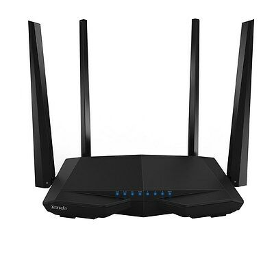 Tenda AC6 AC1200 Smart Dual-Band WiFi Router - 867Mbps (5GHz) & 300Mbps (2.4GHz)