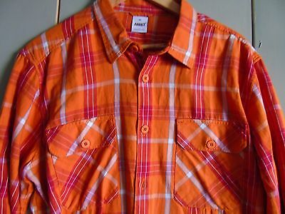 Bnwt Mens Flannel Check Shirt By Addict Size Large / Chest 40