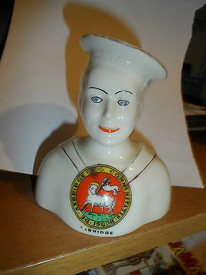 crested china ww1 arcadian sailor royal navy axbridge somerset wells re lipstick