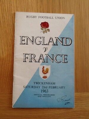 England V France  1963 Twickenham