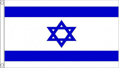 ISRAEL FLAG 3' x 2' Israeli Flags Star of David