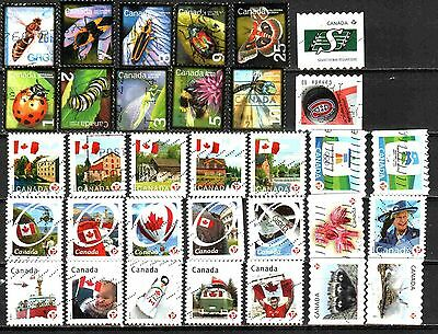 Canada 2007-2013 Definitives 33 Used Lt-40.2.2