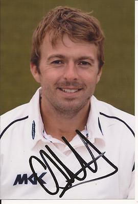 Sussex * Chris Nash Signed 6X4 Portrait Photo+Coa