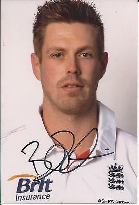 ENGLAND * BOYD RANKIN SIGNED 6x4 PORTRAIT PHOTO+COA
